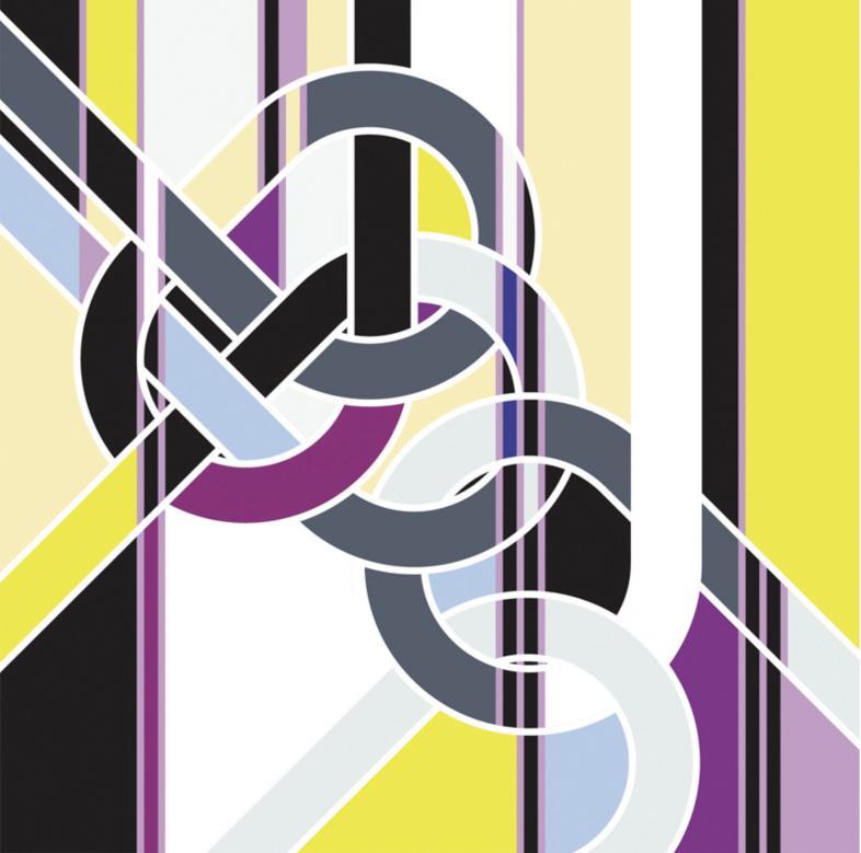 Sarah Morris Painting Blackwall Hitch Knots 2009