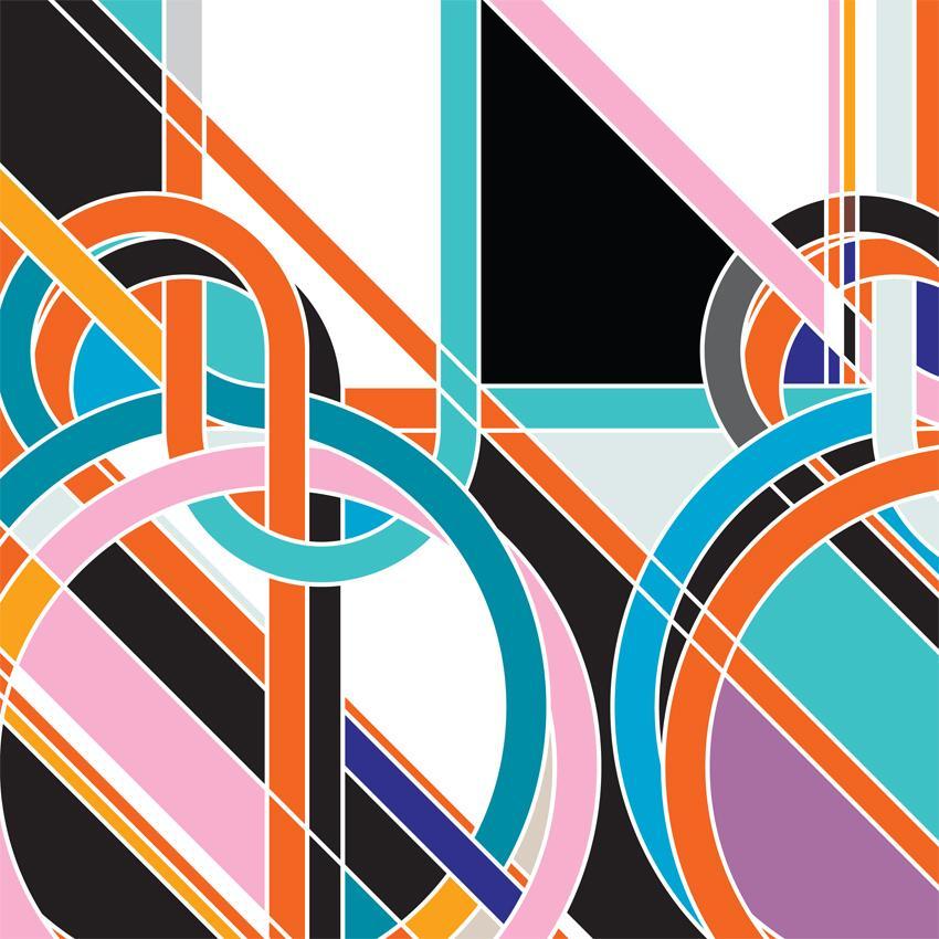 Sarah Morris Painting Portuguese Bowline Knots 2009