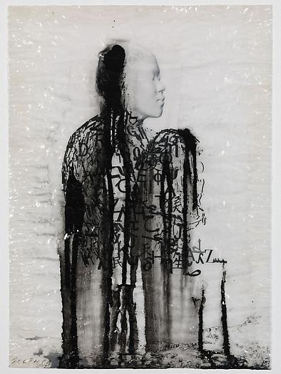 Veiled Shadow IX, 2011 Mixed media on paper 16 1/2 x 11 3/4 inches 42 x 30 cm