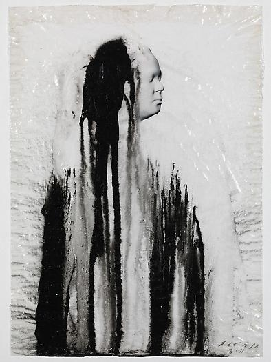 Veiled Shadow XI, 2011 Mixed media on paper 16 1/2 x 11 3/4 inches 42 x 30 cm