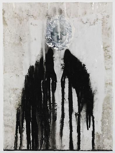 Veiled Shadow XVIII, 2011 Mixed media on paper 16 1/2 x 11 3/4 inches 42 x 30 cm