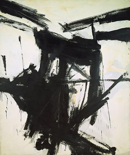 August Day, 1957 Oil on canvas 92 x 78 in. 233.7 x 198.1 cm