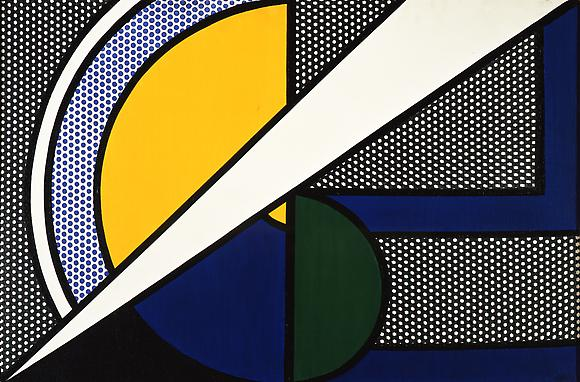 Modern Painting, 1967 Oil and magna on canvas 24 x 36 in. 61 x 91.4 cm