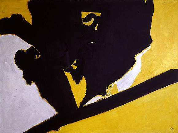 Primal Image II, 1988 Acrylic on canvas 55 x 74 in. 139.7 x 187 cm