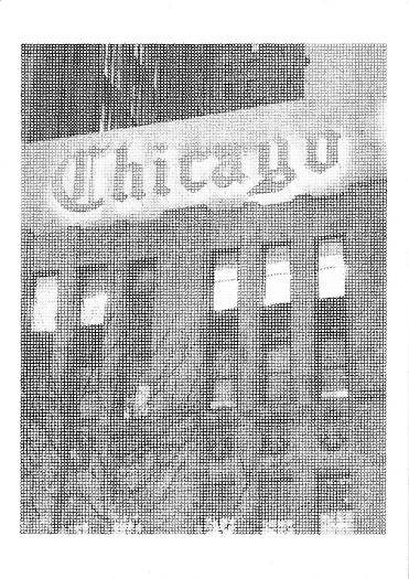 Chicago, 2010 Ink and graphite on paper 11 11/16 x 8 1/4 in. 29.7 x 21 cm
