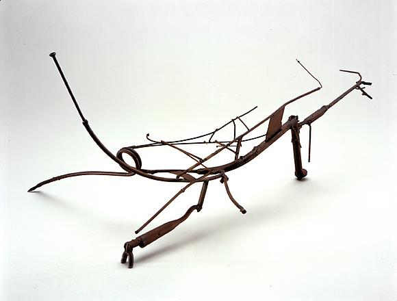 Richard Diebenkorn Untitled, c. 1951 Welded scrap iron 20 1/2 x 41 x 29 in. 52.1 x 104.1 x 73.7 cm