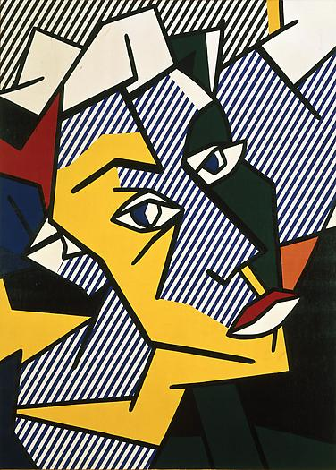 Roy Lichtenstein Untitled (Head), 1980 Oil and Magna on canvas 50 x 36 in.