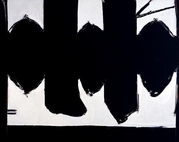 Elegy to the Spanish Republic # 127, 1973 Acrylic on canvas 80 x 100 in. 203.2 x 254 cm