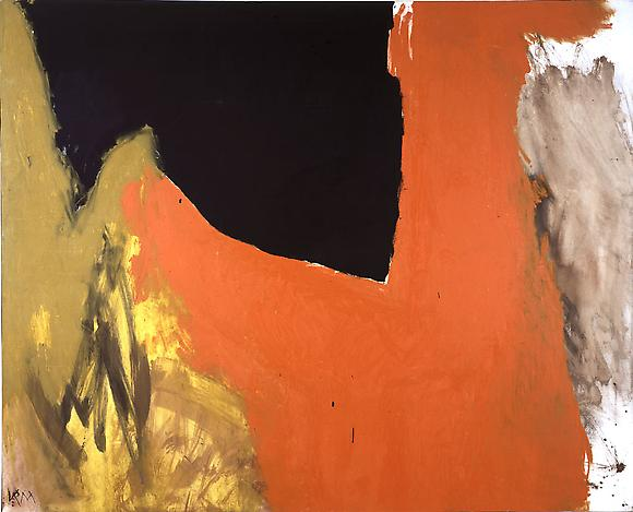 Ungainly Figure, 1959 Oil on canvas 68 7/8 x 85 in. 175 x 216 cm