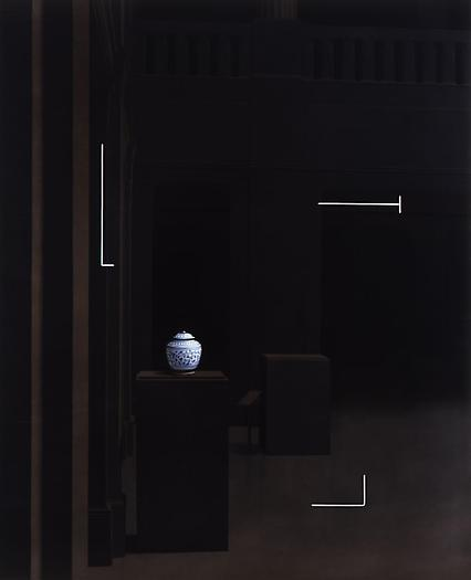 Parenthesis #7, 2007 Oil on canvas 52 x 42 in. 132.1 x 106.7 cm