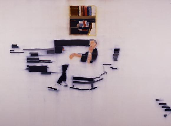 491 (VKH in Her Studio), 2006 Oil on linen 48 x 66 in. 121.9 x 167.6 cm