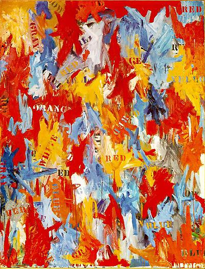 False Start, 1959 Oil on canvas 67 1/4 x 54 in. 170.8 x 137.2 cm