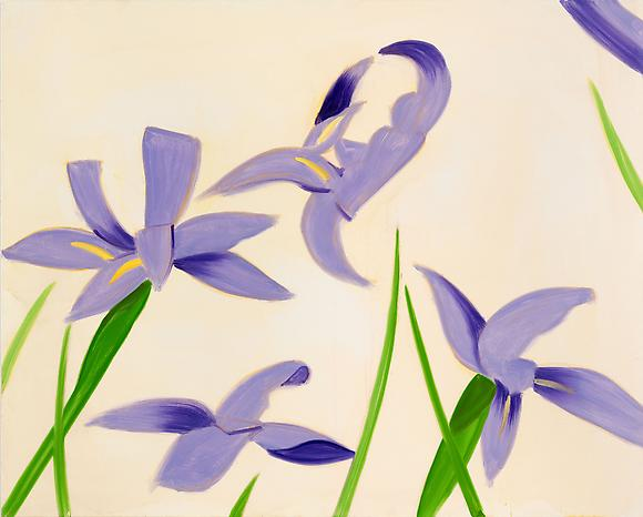 <i>Iris-MD</i> (2011) Oil on linen 40 x 50 inches  101.6 x 127 cm