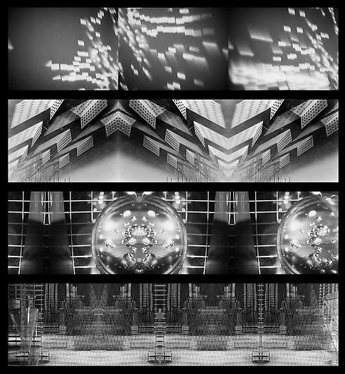 Things To Come, 1936-2012 Three-channel digital video projection Dimensions variable Edition of 5