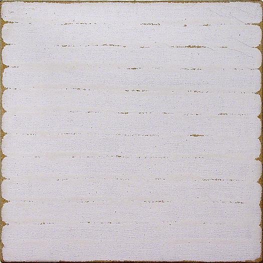 Untitled, 1965 Dutch Boy enamel paint on sized stretched linen canvas 10 x 10 in. 25.4 x 25.4 cm
