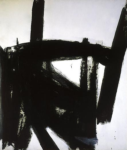 West Brand, 1960 Oil on canvas 93 1/4 x 80 in.