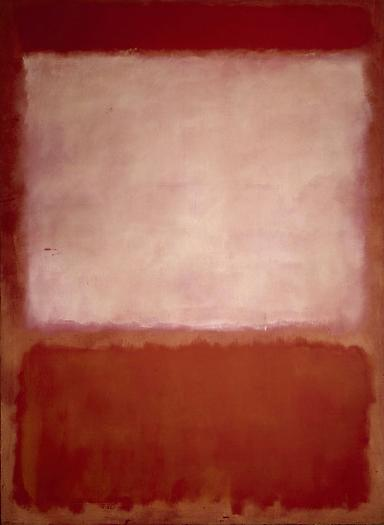 # 16 1960 (Orange, Purple, Orange), 1960 Oil and canvas 94 1/2 x 70 in. 240 x 177.8 cm