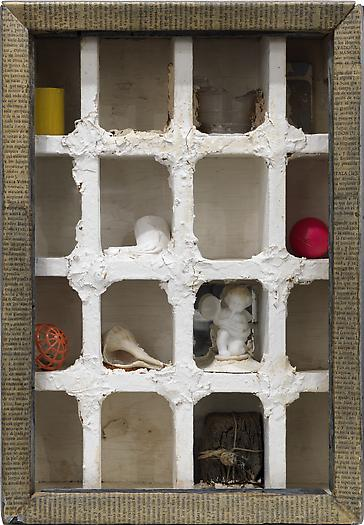 Joseph Cornell Untitled, c. 1950 Mixed media in wooden artist's box 15 1/4 x 10 3/8 x 3 7/8 in. 38.7 x 26.4 x 9.8 cm