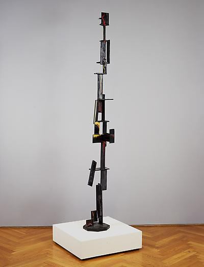 Construction in Rectangles, 1955 Painted steel 78 x 10 x 10 1/2 in. 198.1 x 25.4 x 26.7 cm