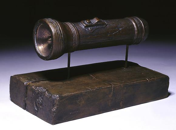 Flashlight, 1960 Bronze 5 x 4 1/4 x 8 in. 12.7 x 10.8 x 20.3 cm