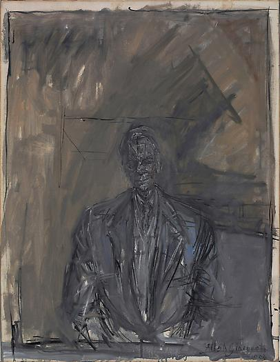 Portrait of G. David Thompson, 1955 Oil on canvas 25 5/8 x 19 3/4 in. 65 x 50.2 cm