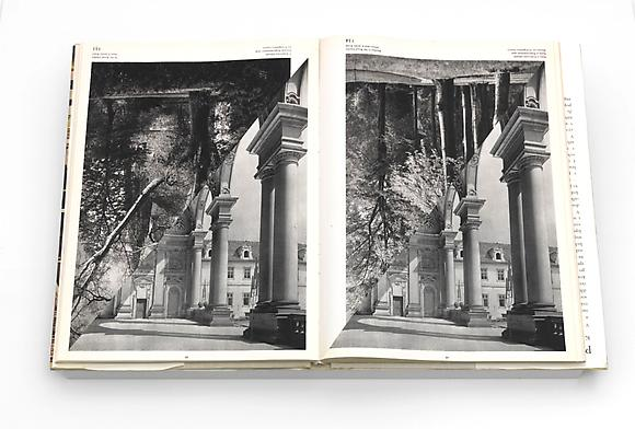 Cathedral I, 2009 Altered book 13 5/8 x 19 7/8 x 1 5/8 inches 34.5 x 50.5 x 4 cm