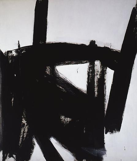 West Brand, 1960 Oil on canvas 93 1/4 x 80 in. 236.9 x 203.2 cm