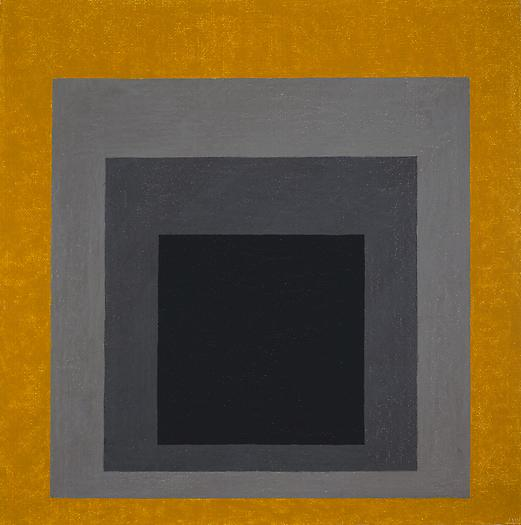 Study for Homage to the Square: Grisaille & Gold, 1961 Oil on masonite 24 x 24 in. 61 x 61 cm