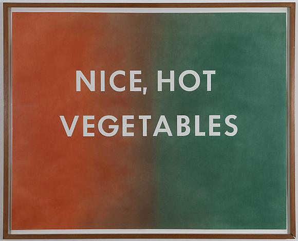 Nice Hot Vegetables, 1976 Pastel on paper 22 3/4 x 28 3/4 inches 58 x 73 cm