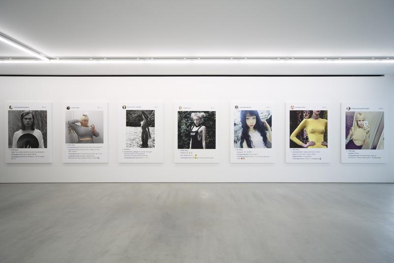 "Are your Instagram photos being sold by someone? - Richard Prince ""New Photographs"" exhibit"