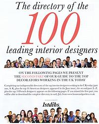 HOUSE & GARDEN - 100 Leading Interior Designers