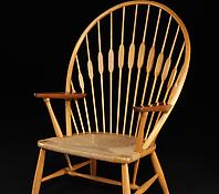 "The ""Peacock Chair"" manufactured by Johannes Hansen"