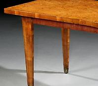 An Amboyna Veneered Art Deco Writing Table