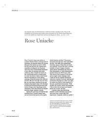 Alto Magazine - Rose Uniacke