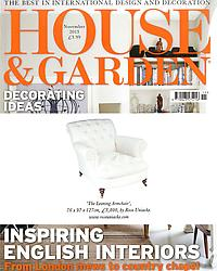 House & Garden - Making a Sitting Room Cosy