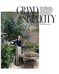 T Magazine - Grand Simplicity
