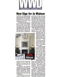 WWD.com - New Digs for Jo Malone