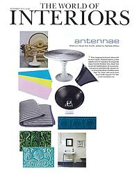 World of Interiors - Antennae