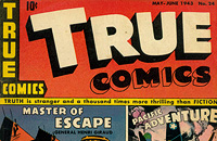 TRUE COMIC COVERS Image