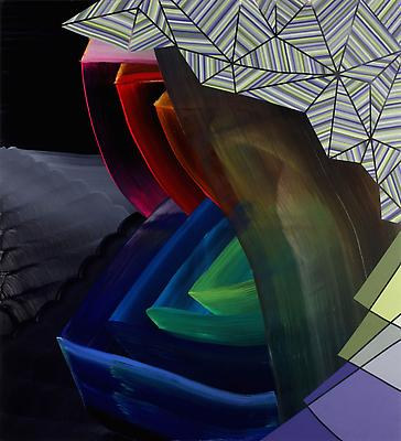 Gasp, 2011, oil on canvas, 60 x 55 inches Image
