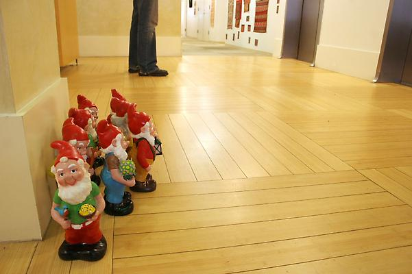Liza Berkoff Floor Gnomes, 2009 archival pigment print 16 x 24 inches Image