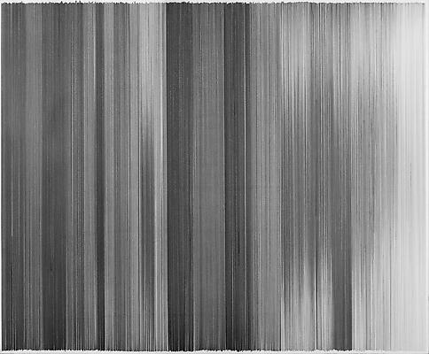 motion drawing 06, 2010 Graphite on cotton board 28 x 34 inches Image