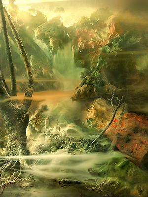 Waterfall 114j, 2010