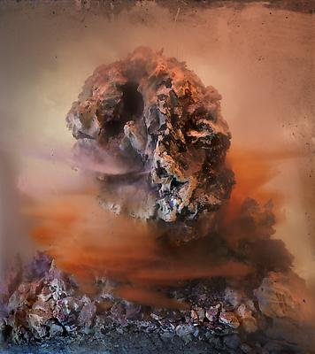 Eroded Man 80d, 2010 C-print 27 x 24 inches Edition of ten Image