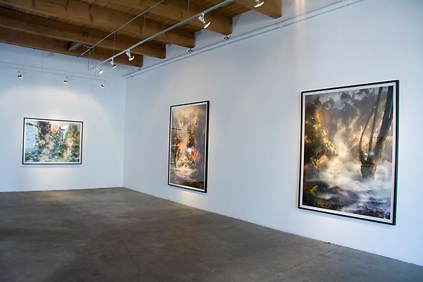 Kim Keever installation shot Image