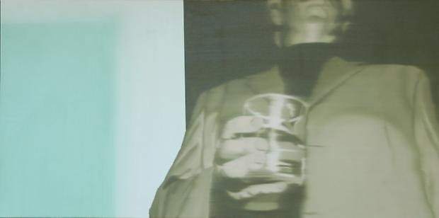 Douglas C. Bloom The Collector, 2008 Oil on canvas 24 x 48 inches Image