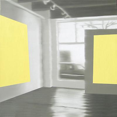 Douglas C. Bloom Sun Spots, 2009 Oil on canvas 36 x 36 inches Image