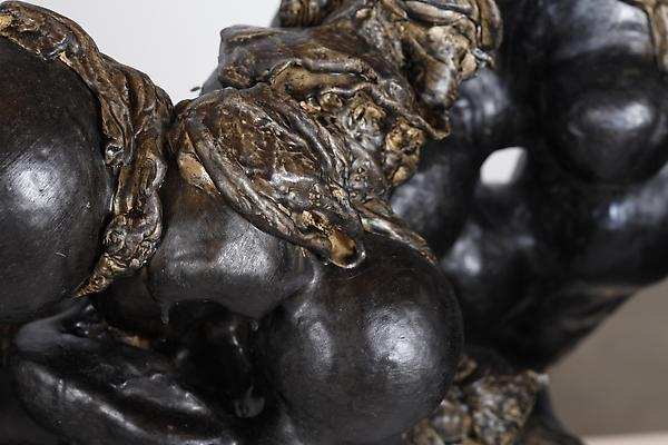Kore, 2012 Detail Plaster, clay, resin and oil paint 32 h. x 48 x 24 inches  Photo by Maurene Cooper Image
