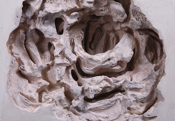 Pearl, 2012 Detail Plaster and oil paint 12 h. x 5.5 x 11 inches  Photo by Maurene Cooper Image