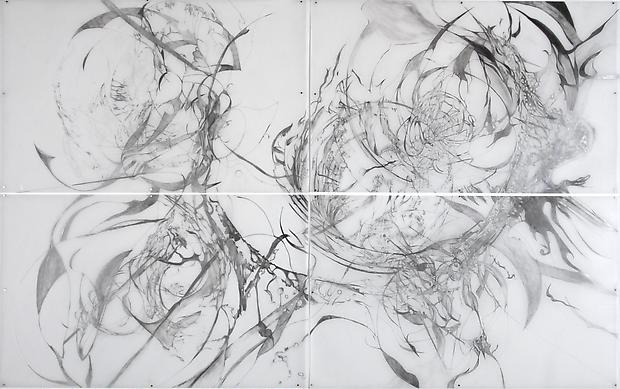When all waters still, 2012 Graphite on Mylar 60 x 80 inches  Photo by Maurene Cooper Image